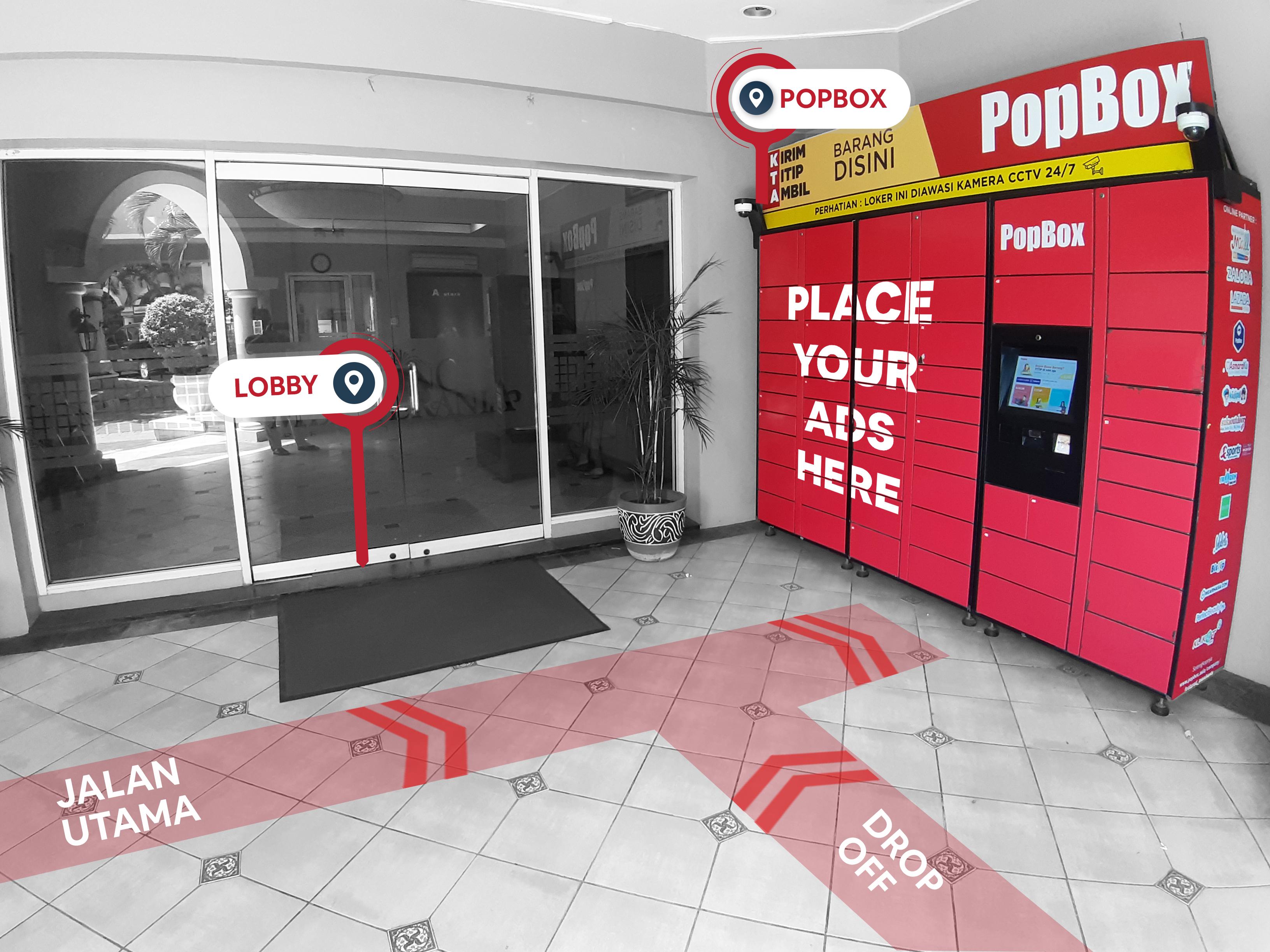 PopBox Locker Advertisement